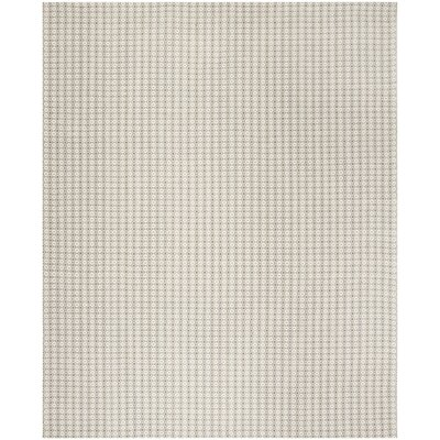 Cherif Hand Tufted Rectangle Gray Solid Area Rug Rug Size: Rectangle 8 x 10