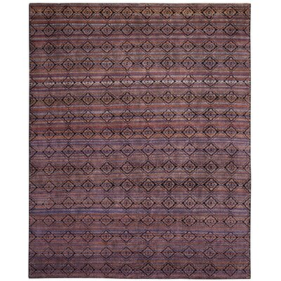 Moyer Hand Tufted Purple Area Rug Rug Size: Rectangle 8 x 10