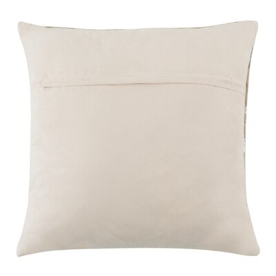 Kenetra Scale Natural/Organic Throw Pillow Size: 18 x 18