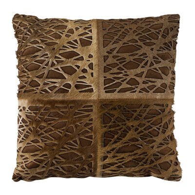 Wozniak Natural/Organic Throw Pillow Size: 18 x 18