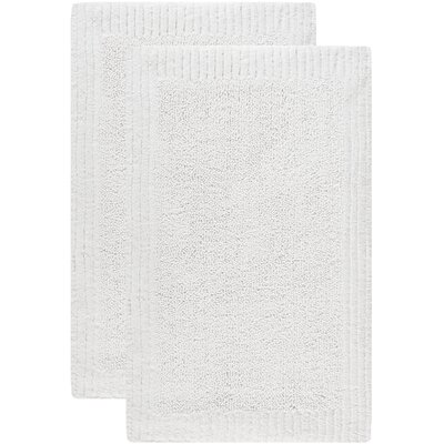 Lavertue Bath Rug Size: 21 W x 34 L, Color: White
