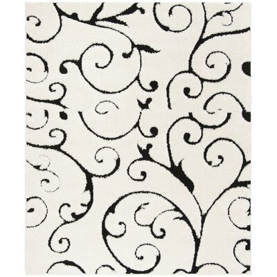 Hodgson Ivory Area Rug Rug Size: Rectangle 33 x 53