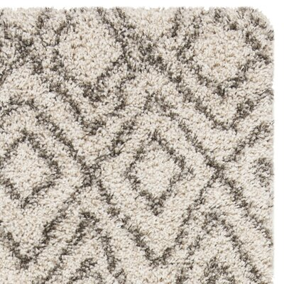 Cammie Ivory Area Rug Rug Size: Rectangle 3 x 5