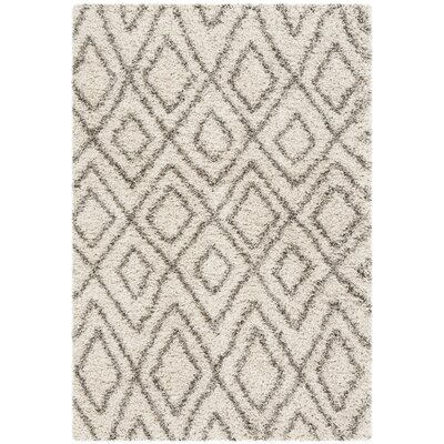 Cammie Ivory Area Rug Rug Size: Rectangle 4 x 6