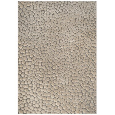 Edvin Beige Area Rug Rug Size: Rectangle 53 x 76