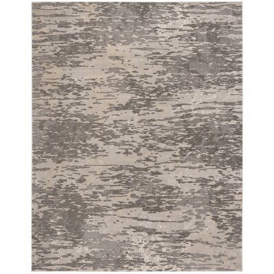 Edvin Gray Area Rug Rug Size: Rectangle 9 x 12
