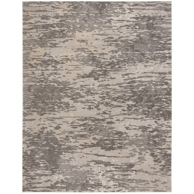 Edvin Gray Area Rug Rug Size: Rectangle 8 x 10