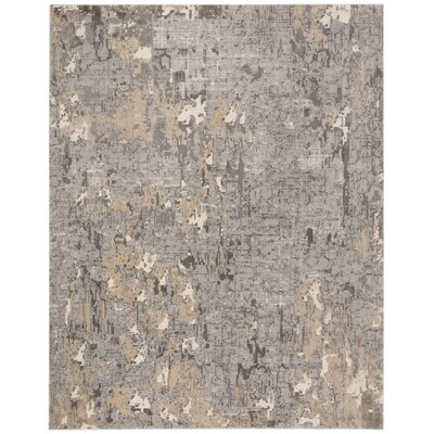 Edvin Gray Area Rug Rug Size: Rectangle 4 x 6