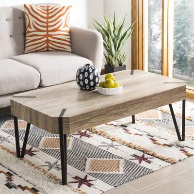 Ricarda Wood Top Coffee Table