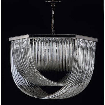 Bricker 7-Light Crystal Pendant