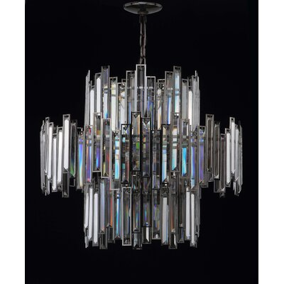 DeHond 14-Light Crystal Chandelier