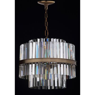 Macri 8-Light Crystal Chandelier