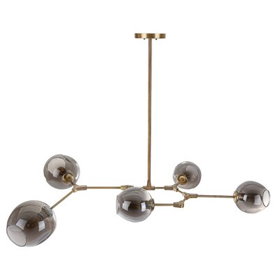 Overholt 5-Light Cluster Pendant