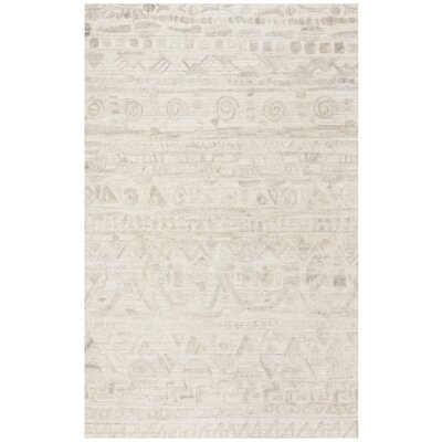 Alcanza Wool Ivory Area Rug Rug Size: Rectangle 6 x 9