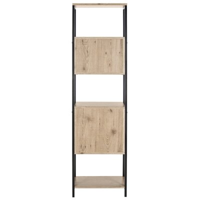 Saucier Mid Century Wood Etagere Bookcase
