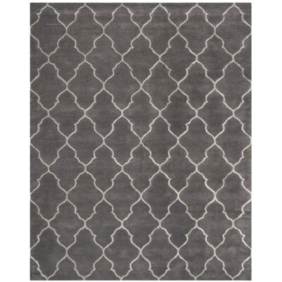 Idell Hand Tufted Gray Area Rug