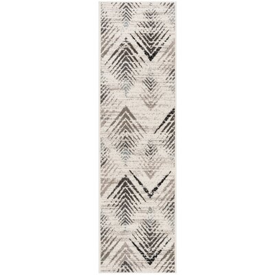 Alioth Cream/Beige Area Rug Rug Size: Runner 23 x 8