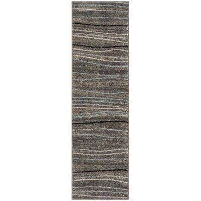 Quiros Silver/Beige Area Rug Rug Size: Runner 23 x 8