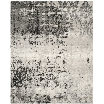 Dayna Gray Area Rug Rug Size: Rectangle 10 x 14