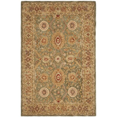 Pritchard Traditional Area Rug Rug Size: Rectangle 4 x 6
