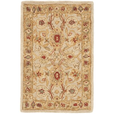 Pritchard Hand-Woven Wool Area Rug Rug Size: Rectangle 4 x 6
