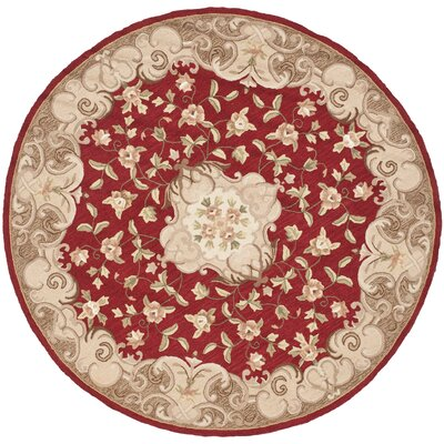 DuraArea Rug Red/Sage Area Rug Rug Size: Rectangle 4 x 6