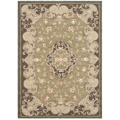 DuraArea Rug Beige/Brown Area Rug Rug Size: Rectangle 4 x 6
