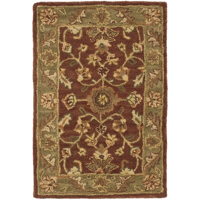 Golden Jaipur Gold/Rust Area Rug Rug Size: 4 x 6