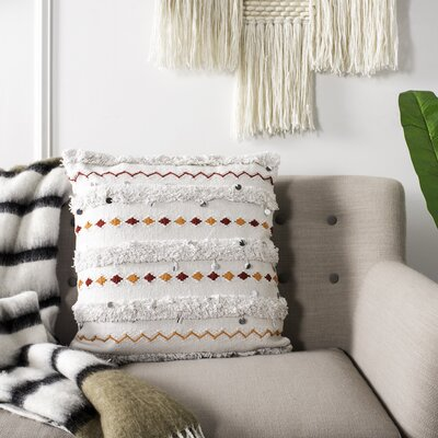Yakhlef 100% Cotton Throw Pillow