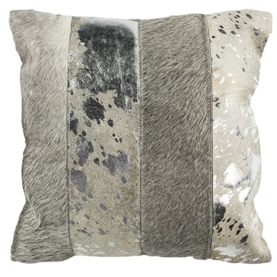 Yareli Throw Pillow Color: Grey/Silver