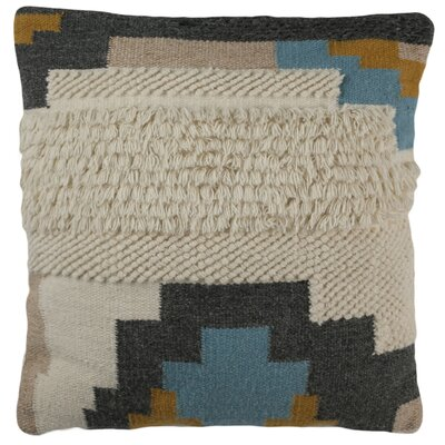 Layoune Wool Throw Pillow