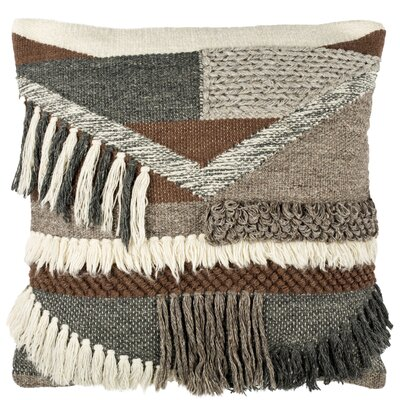 Bannock Wool Throw Pillow