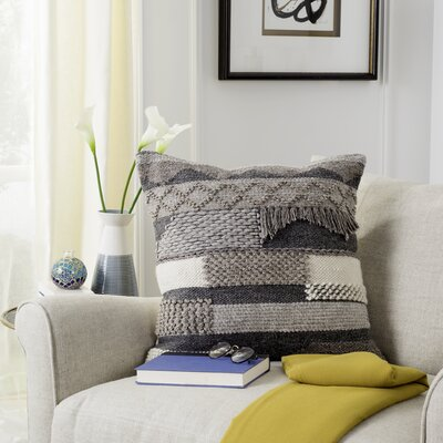 Bansom Wool Throw Pillow