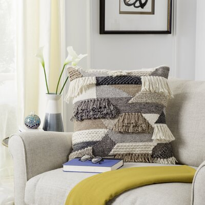 Banstead Wool Throw Pillow
