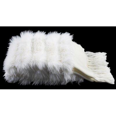 Alisson Bed Runner Color: White