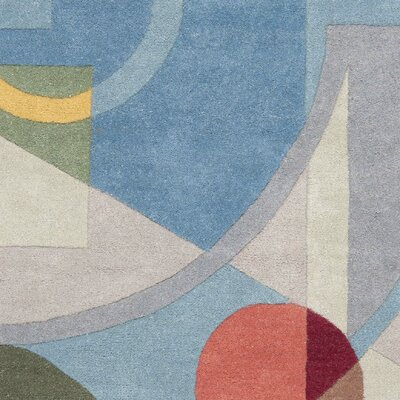 Rodeo Drive Blue Area Rug Rug Size: Rectangle 5 x 8