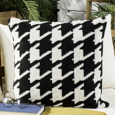 Bratcher Houndstooth Outdoor Throw Pillow