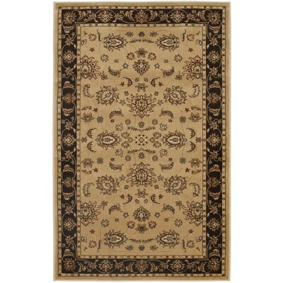 Majesty Camel/Brown Rug Rug Size: Rectangle 33 x 53