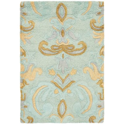 Soho Light Blue Area Rug Rug Size: 6 x 9
