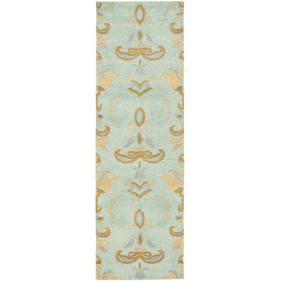 Soho Light Blue Area Rug Rug Size: Runner 26 x 8