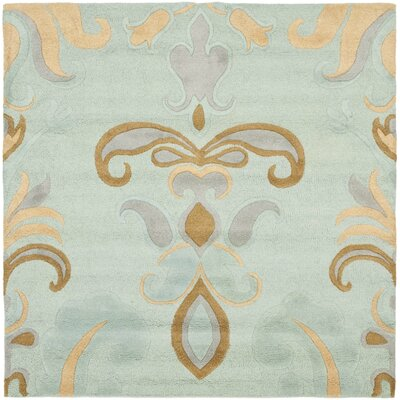 Soho Light Blue Area Rug Rug Size: Square 6