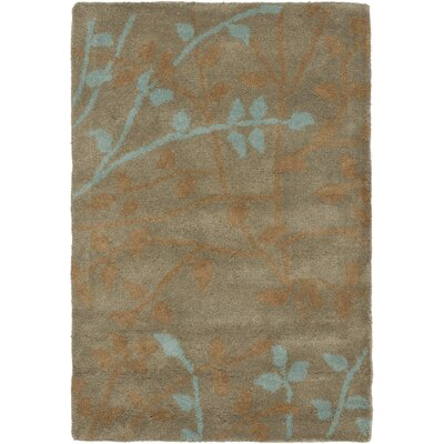 Soho Light Brown Area Rug Rug Size: Rectangle 76 x 96