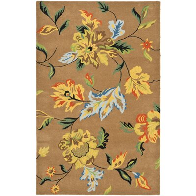 Soho Brown Area Rug Rug Size: 76 x 96