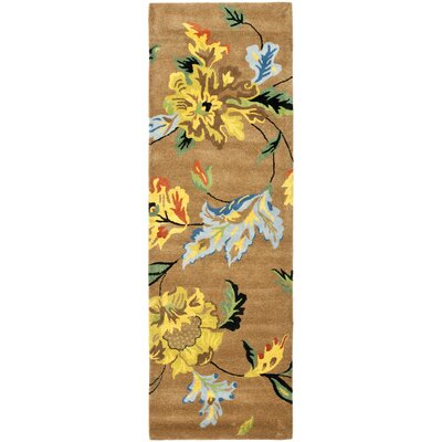Soho Brown Area Rug Rug Size: Runner 26 x 14