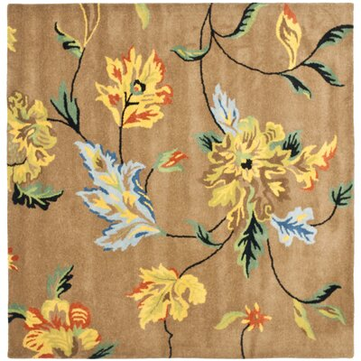 Soho Brown Area Rug Rug Size: Square 6'