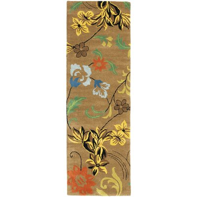 Soho Brown Area Rug Rug Size: Runner 26 x 10