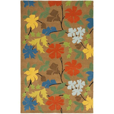 Soho Brown Area Rug Rug Size: Rectangle 6 x 9