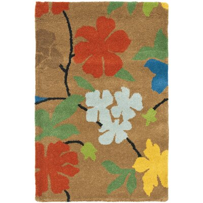 Soho Brown Area Rug Rug Size: Rectangle 96 x 136