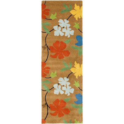 Soho Brown Area Rug Rug Size: Runner 26 x 12