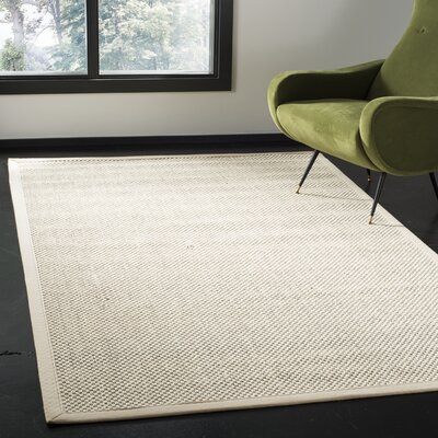 Chaim Ivory Area Rug Rug Size: Rectangle 4 x 6